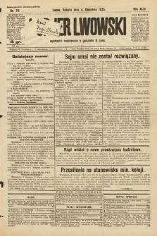Kurjer Lwowski. 1925, nr79