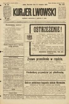 Kurjer Lwowski. 1925, nr86