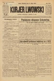 Kurjer Lwowski. 1925, nr113