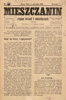 Mieszczanin : organ miast i miasteczek. 1908, nr1