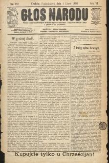 Głos Narodu. 1898, nr150