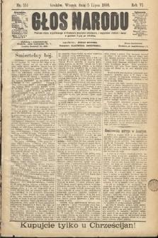 Głos Narodu. 1898, nr151