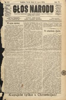 Głos Narodu. 1898, nr158