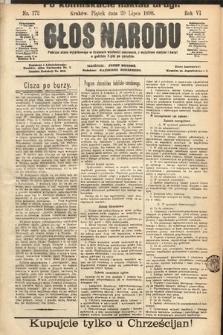 Głos Narodu. 1898, nr172