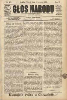 Głos Narodu. 1898, nr175