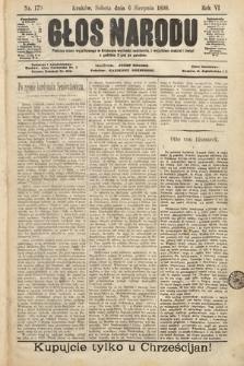 Głos Narodu. 1898, nr179