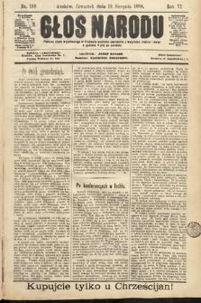 Głos Narodu. 1898, nr188