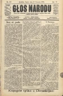 Głos Narodu. 1898, nr189