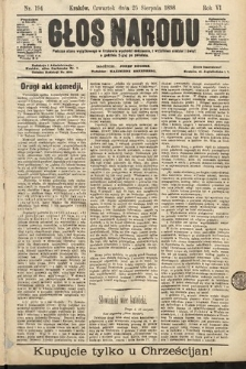 Głos Narodu. 1898, nr194