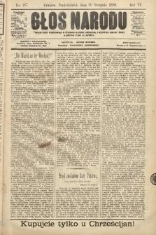 Głos Narodu. 1898, nr197