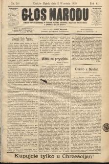 Głos Narodu. 1898, nr201