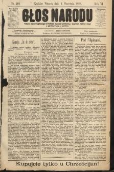 Głos Narodu. 1898, nr204
