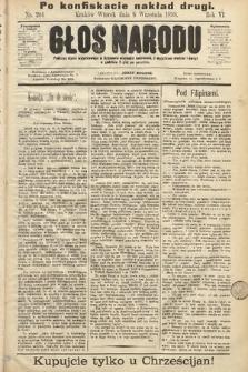 Głos Narodu. 1898, nr204, [skonfiskowany]