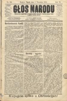 Głos Narodu. 1898, nr206