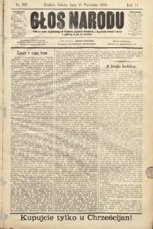 Głos Narodu. 1898, nr207