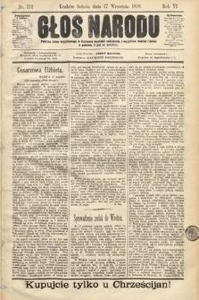 Głos Narodu. 1898, nr212
