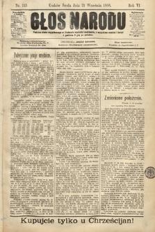 Głos Narodu. 1898, nr215