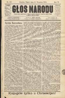 Głos Narodu. 1898, nr223