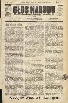 Głos Narodu. 1898, nr229