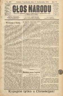 Głos Narodu. 1898, nr231