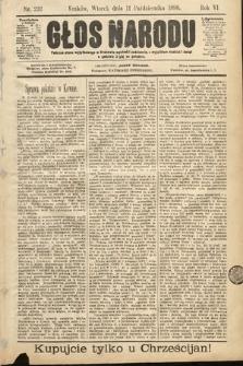 Głos Narodu. 1898, nr232