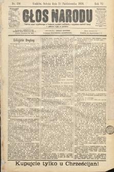 Głos Narodu. 1898, nr236