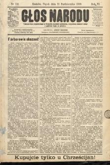 Głos Narodu. 1898, nr241