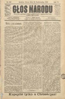 Głos Narodu. 1898, nr242