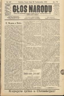 Głos Narodu. 1898, nr247