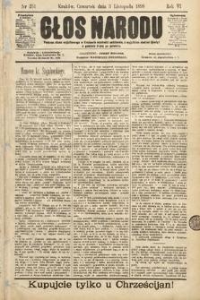 Głos Narodu. 1898, nr251