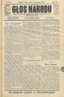 Głos Narodu. 1898, nr256