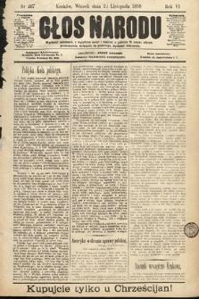 Głos Narodu. 1898, nr267