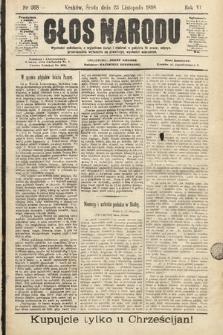 Głos Narodu. 1898, nr268