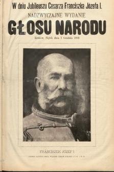 Głos Narodu. 1898, nr275, wydanie nadzwyczajne