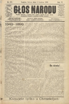 Głos Narodu. 1898, nr276