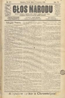 Głos Narodu. 1898, nr279