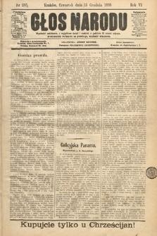 Głos Narodu. 1898, nr285