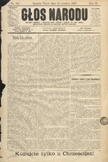 Głos Narodu. 1898, nr292