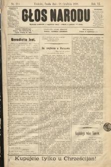 Głos Narodu. 1898, nr294