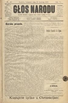 Głos Narodu. 1898, nr295