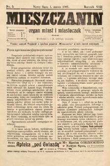 Mieszczanin : organ miast i miasteczek. 1907, nr5