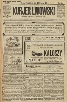 Kurjer Lwowski. 1924, nr293