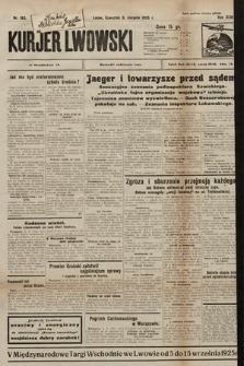 Kurjer Lwowski. 1925, nr182