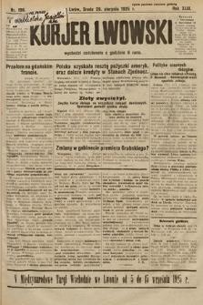 Kurjer Lwowski. 1925, nr198