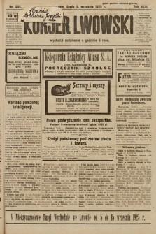 Kurjer Lwowski. 1925, nr204