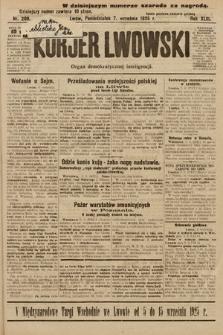 Kurjer Lwowski : organ demokratycznej inteligencji. 1925, nr209