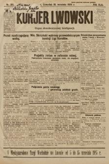 Kurjer Lwowski : organ demokratycznej inteligencji. 1925, nr211