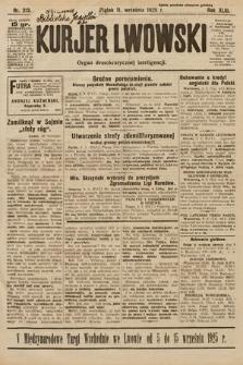 Kurjer Lwowski : organ demokratycznej inteligencji. 1925, nr212
