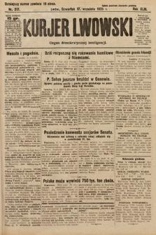 Kurjer Lwowski : organ demokratycznej inteligencji. 1925, nr217
