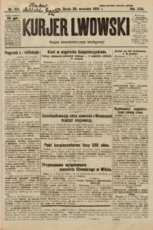 Kurjer Lwowski : organ demokratycznej inteligencji. 1925, nr222